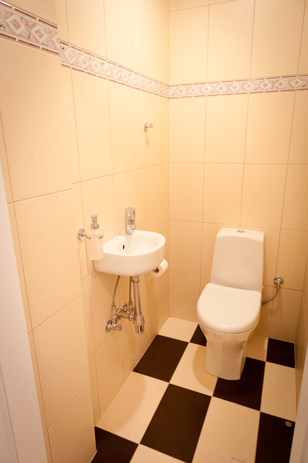 Modern conveniences were included in the renovation